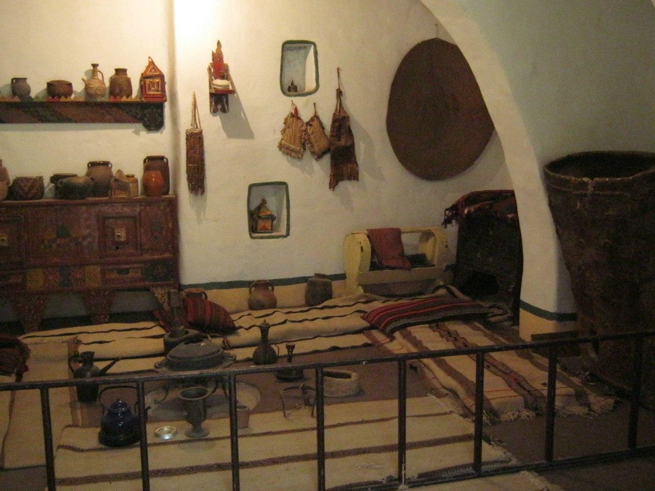 Убранство дома в традиционном арабском стиле