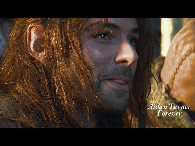 Aidan Turner Kili Clips From The Hobbit AUJ Extended Edition