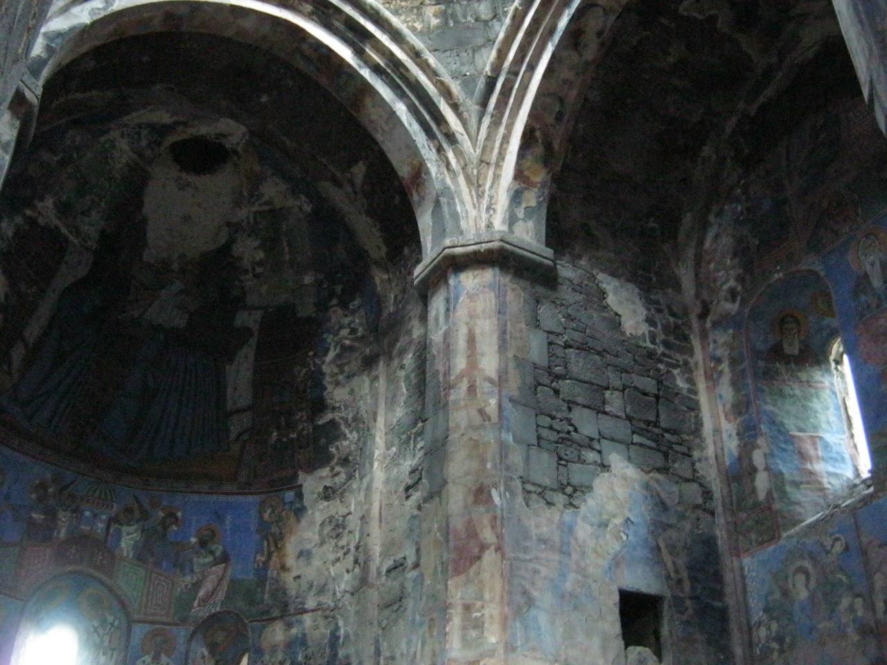 фрески монастыря Ахтала