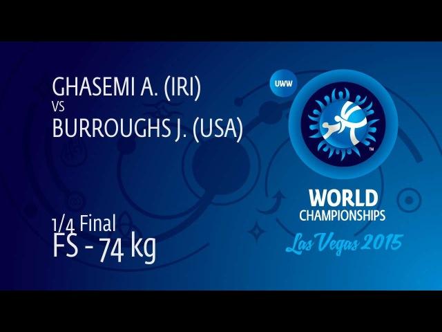4 BURROUGHS USA vs GHASEMI IRI 1 4 Quarterfinal