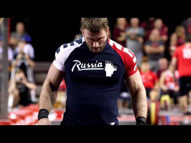 Dmitry Klokov s Thruster Ladder at the Grid Championship Match