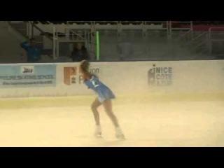 Nice Cup 2014. SENIORS LADIES - Free Skating. Isabelle OLSSON