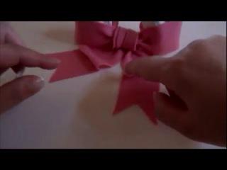 Шикарный бант из мастики для торта своими руками: лепка из мастики для торта.