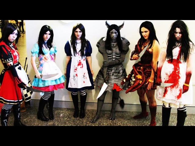Alice The Madness returns Sketch Supanova Anime Con Cosplay Competition Gothic Horror Fleshmaiden