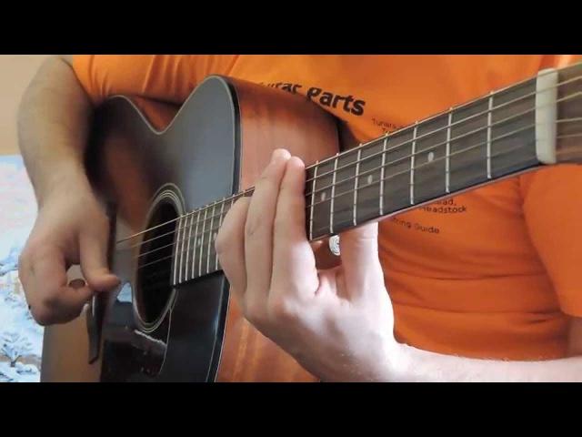 Конь Любэ на гитаре
