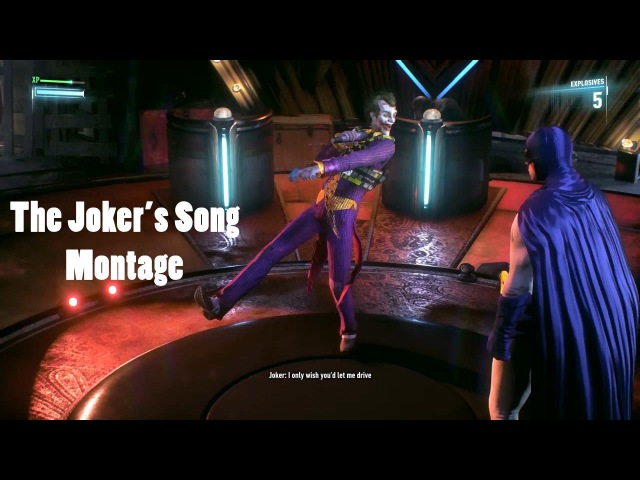 Batman Arkham Knight : The Joker's Song (Clean Montage)