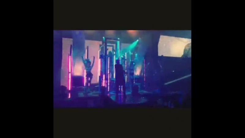 Видеоотчёт с концерта Шуры в ICON с 18 на 19 июля в ночь.