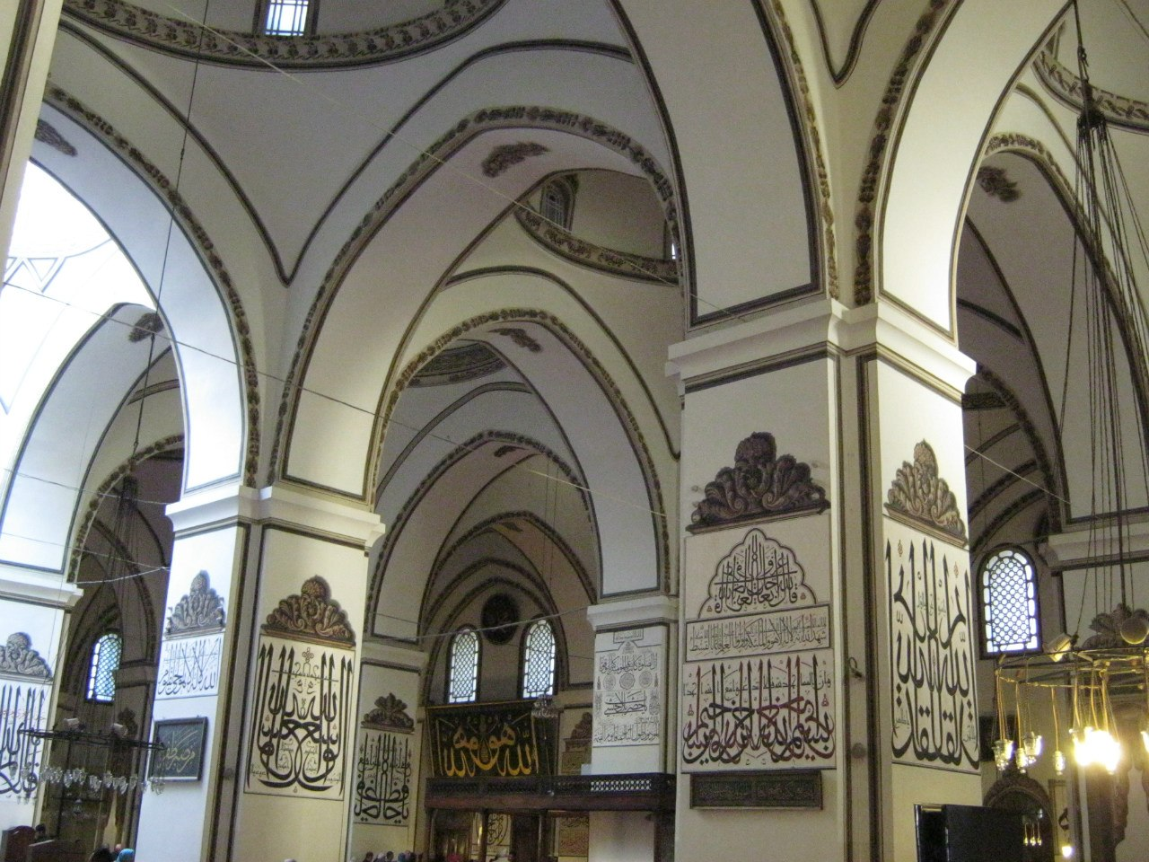 Великая мечеть в городе Бурса