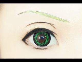 Tutorial : Anime Eye Makeup 153 • Apollon Agana Belea