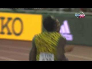Usain Bolt 9 96 Men's 100m Semifinal 1 IAAF World Championship Beijing 2015