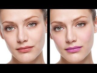 Photoshop CS6: Natural Skin Retouching + Applying Makeup\\jj