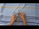 How to tie lucky knot. Как вязать узел удачи