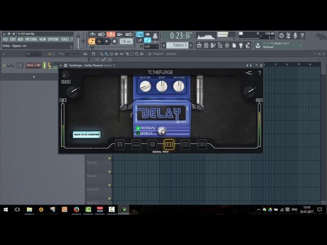 JST - Toneforge Guilty Pleasure - тест на VST инструментах (Shreddage II IBZ)
