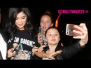 Kylie Jenner Yells At Crazy Fans To Stop Grabbing Her As She Arrives To Craig's Before The Nice Guy