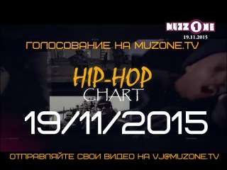 HIP-HOP CHART на MUZZONE, 19/11/2015