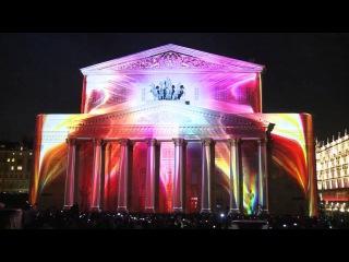 "Световое шоу Samsung на фестивале ""Круг Света"" 2015"