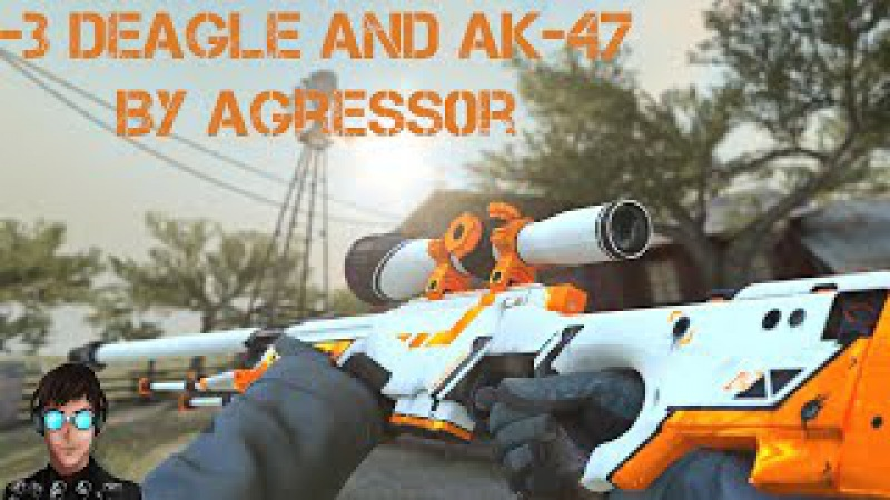 [CS GO]Deagle and AK-47 by Agress0r!