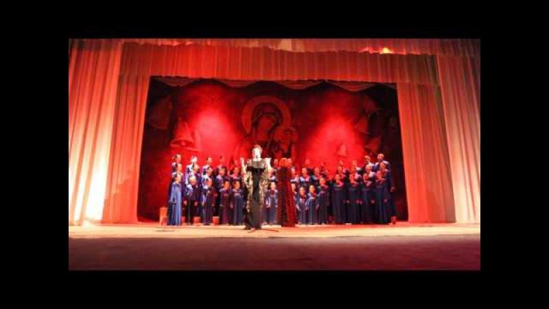 Виступ Вінницького дитячо-молодіжного хору на Житомирському вечорі колядок 2016