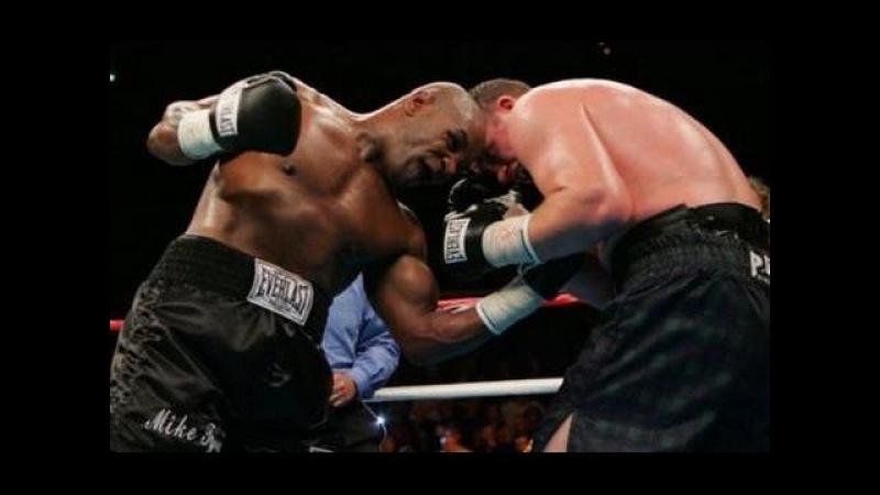 Бокс Майк Тайсон Кевин МакБрайд комментирует Гендлин Mike Tyson vs Kevin McBride