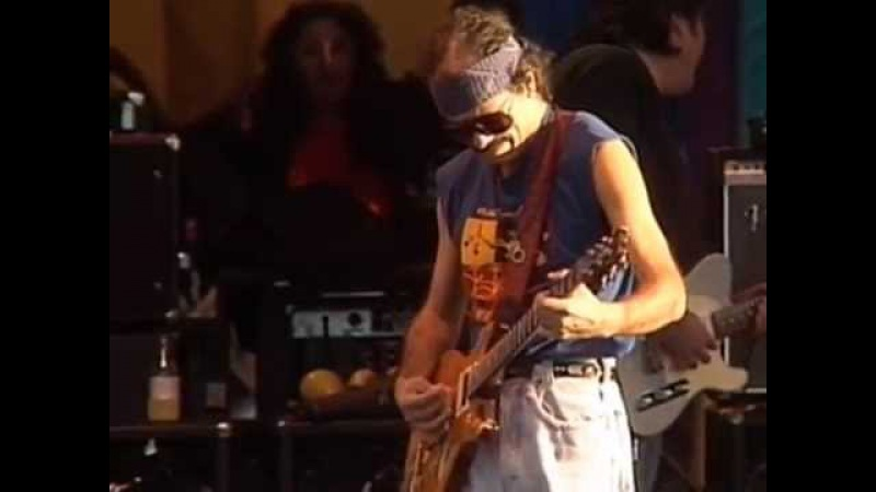 Santana guitar solo 12 bar blues jam 11 26 1989 Official