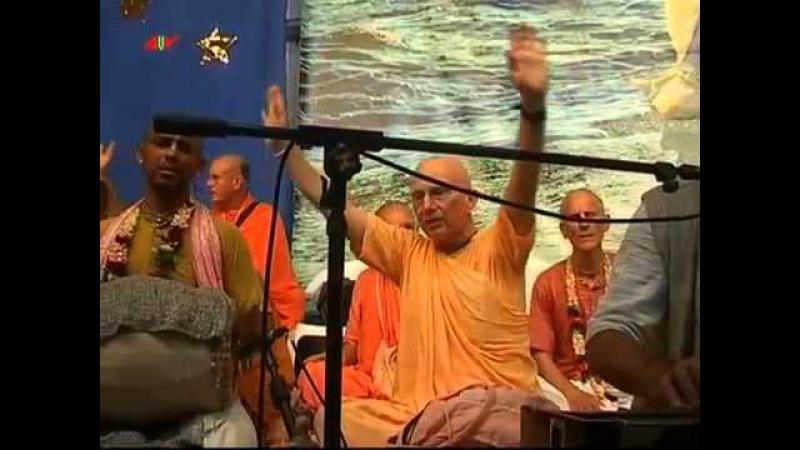 Вечерний супер-киртан (Е.М. Ядубара Прабху). Бхакти Сангама 2011. Часть 2 - 11.09.2011
