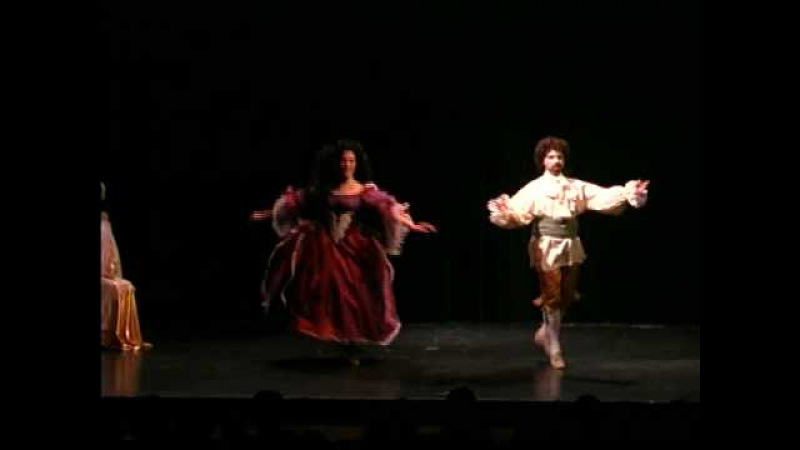 Baroque Dance Chaconne de l'Amour Médecin