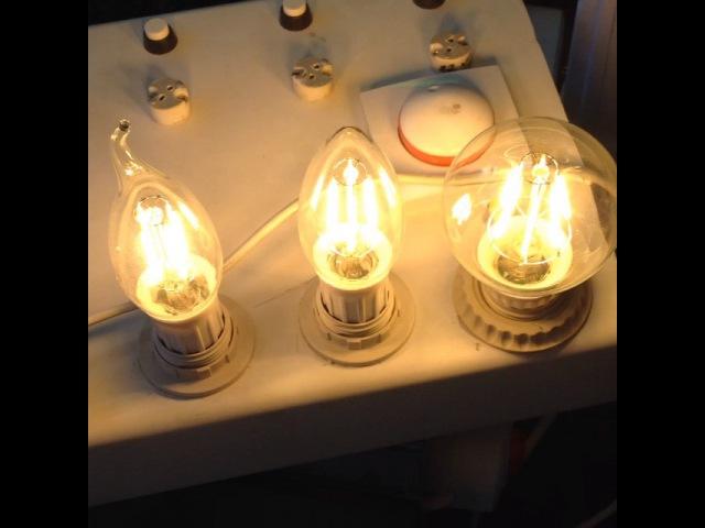 Диммируемые дизайнерские LED лампы
