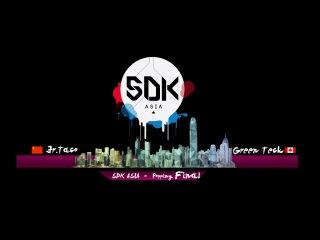 "SDK ASIA 2015 Final popping - Jr. Taco Vs Green Teck ""Organzined by Jamcityhk Limited"