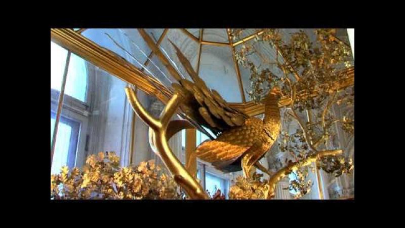 Peacock clock horloge du paon Ermitage museum St Petersburg Tchasi Pavlin
