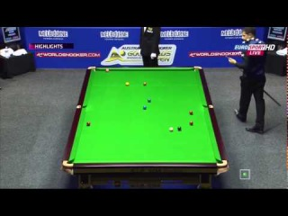 Snooker. Australian Goldfields Open - 2015. John Higgins - Michael Georgiou. Round 1.