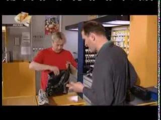 Необычный ремонт обуви