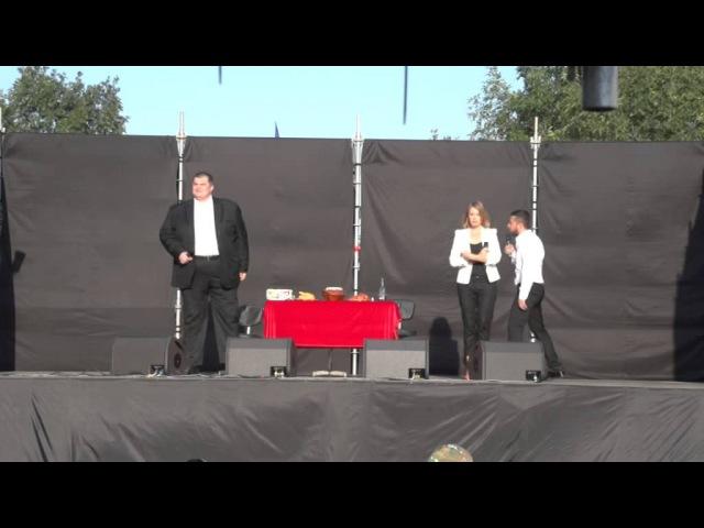 Студія Квартал 95 влаштувала концерт для українських військових АТО