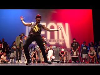 "ATEAMLV presents NEON ""Ghetto Style"" Freestyle Battle Las Vegas | YAK FILMS"
