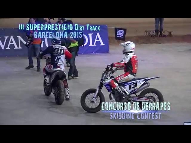 Concurso de Derrapes | Skidding contest - III Superprestigio Barcelona 2015(UHD4K)