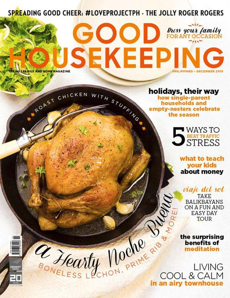 Good Housekeeping Philippines 2015-12