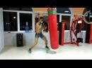 Андреїшин бокс кач робота на мішку
