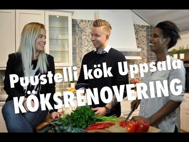 Добро пожаловать в Puustelli Kök Uppsala Швеция