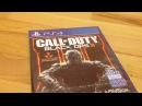 Распаковка Call of duty black ops 3 PS4 / Unboxing 1