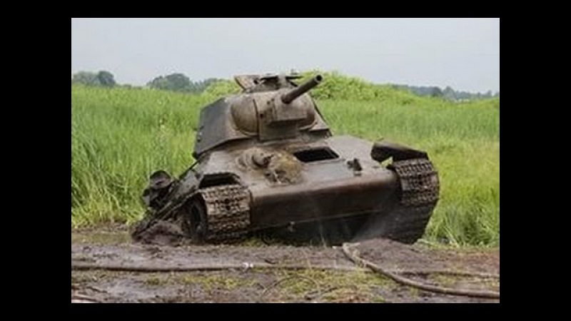 Михаил Калинкин Танк из болота
