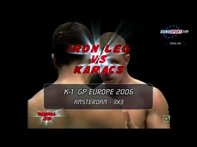K 1 World GP 2006 Naoufal Benazzouz vs Attila Karacs 13 05 2006 Amsterdam, Netherlands