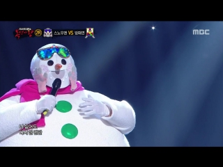 Раунд 2 Kim Tae Won - Although It Is Hateful, Again @ King of Masked Singer 160103