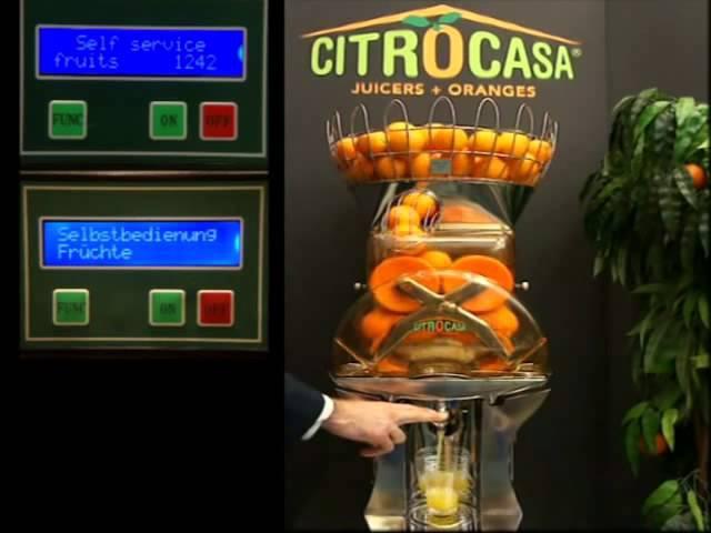 Автоматическая соковыжималка для апельсинов F SB_ROVABO