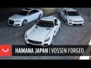 Hamana Japan | Saitama | Vossen Forged | Widebody Mercedes GT S / Audi S8 / VW Golf R