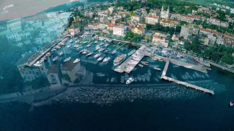 Volosko Croatia Hrvatska Snimanje iz zraka 4K