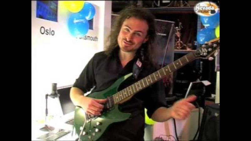 Roland GR20 Guitar Synth Demo Alex Hutchings @ PMT