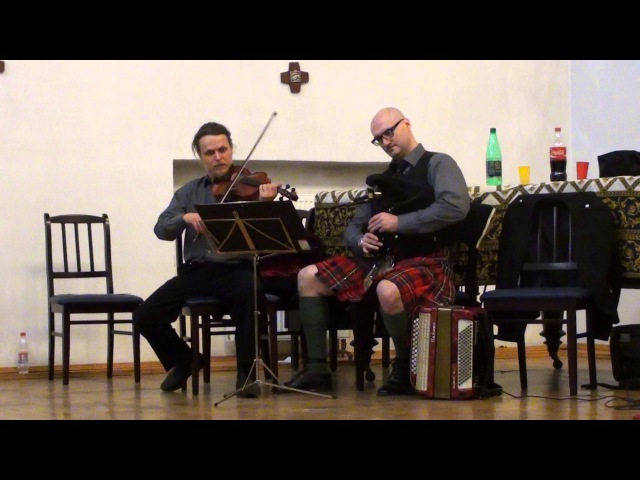 Scottish Smallpipes and Fiddle - Cuddy Claw'd Her - Шотландская музыка