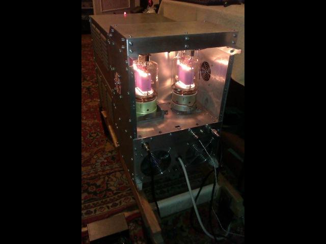Ламповый КВ усилитель мощности на ГУ 81м