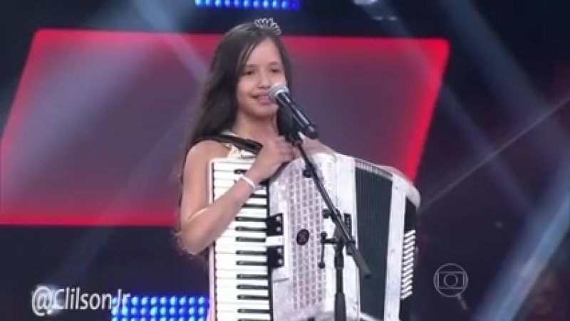 Laís Amaro de Cajazeiras no The Voice Kids