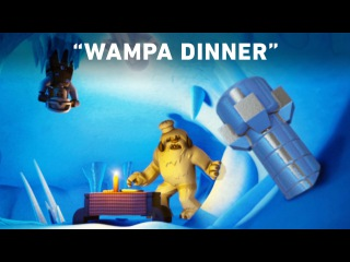 Wampa Dinner - LEGO Star Wars: Droid Tales Clip