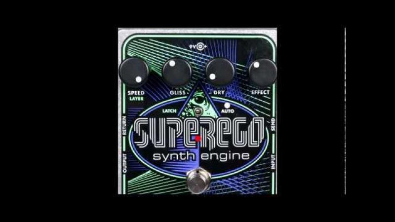 Electro Harmonix Superego Synth Engine Effectology Special Edition